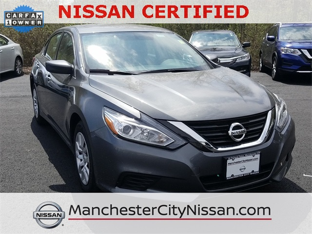 Mid City Nissan >> Certified Pre Owned 2018 Nissan Altima 2 5 S 4d Sedan In Manchester