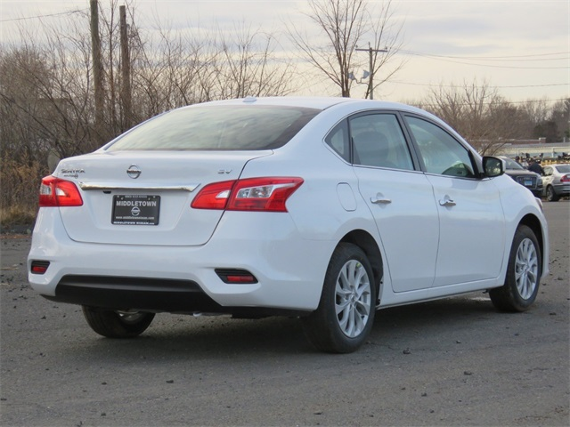 New City Nissan >> New 2019 Nissan Sentra Sv 4d Sedan In Manchester Ky290105