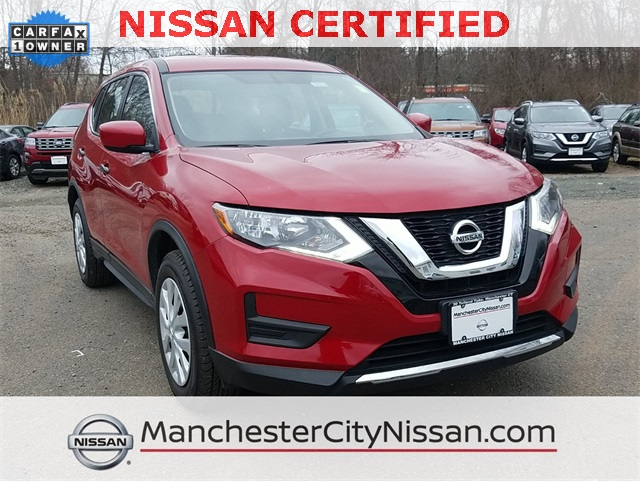 Nissan Certified Pre Owned >> Certified Pre Owned 2017 Nissan Rogue S 4d Sport Utility In